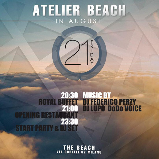 Atelier Beach al The Beach Milano