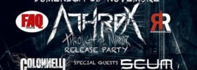 "Athrox - ""Through the Mirror"" Release Party al Faq Live Music Club a Grosseto"