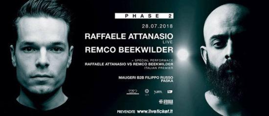Phase 2 w/ Raffaele Attanasio Remco Beekwilder all'Afrobar di Catania