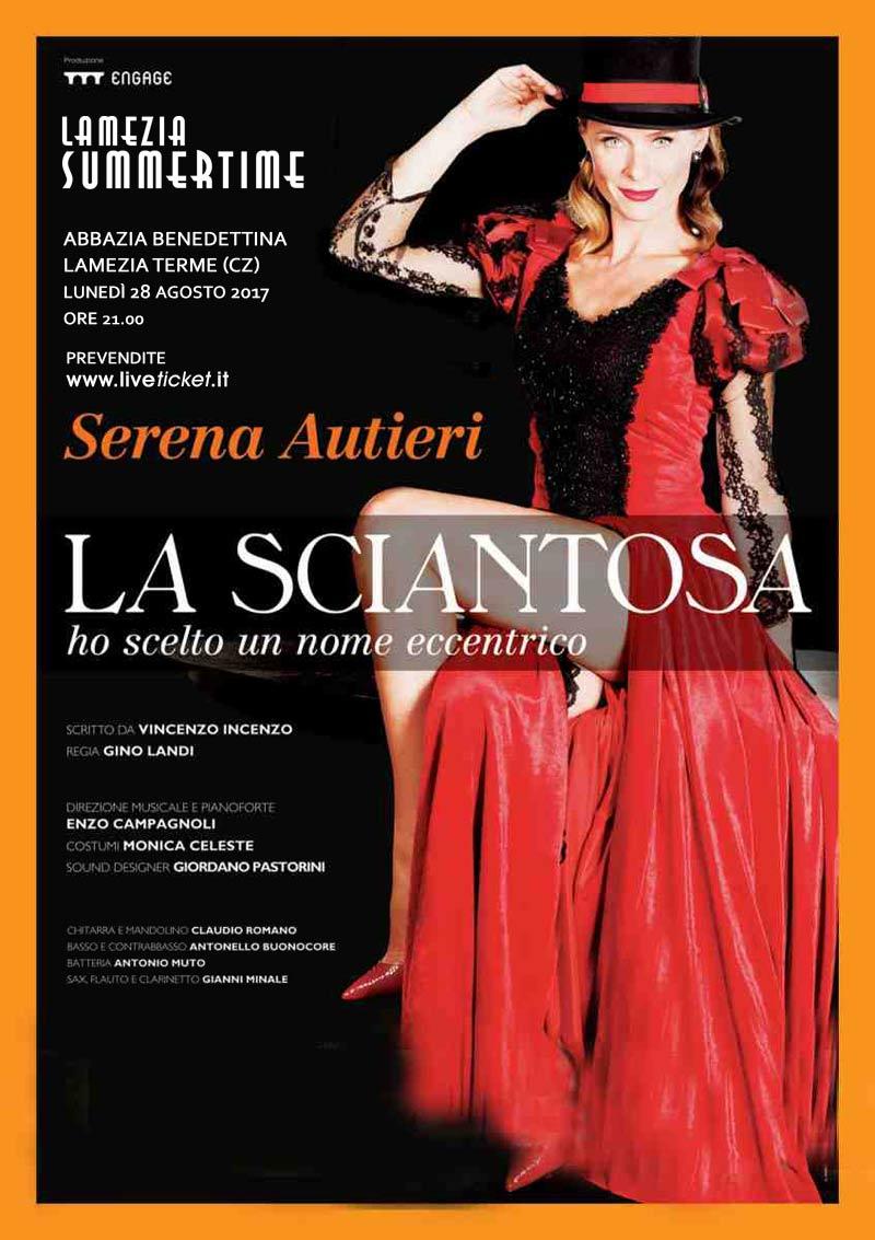 """Serena Autieri """"La sciantosa"""" all'Abbazia Benedettina di Lamezia Terme"""