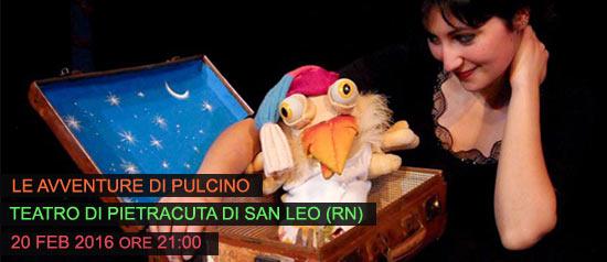 """""""Le avventure di pulcino"""" al Teatro di Pietracuta di San Leo"""