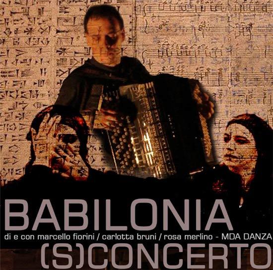 """""""Babilonia"""" (s)concerto al Riso Museo Regionale d'Arte Contemporanea a Palermo"""