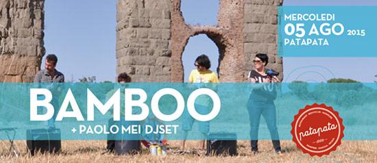 Bamboo Live - Pata Pata a Sampieri