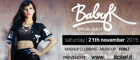 Baby-K Controsenso al MashUp Clubbing - Mush Up di Forlì