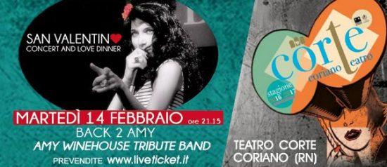 Concerto Back 2 Amy al Teatro CorTe di Coriano