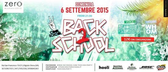 Back 2 School a Olgiate Olona