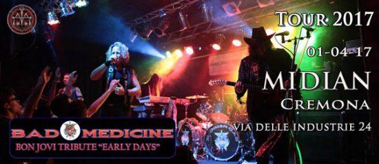Bad Medicine – Italian Bon Jovi Tribute al Midian Live Pub di Cremona