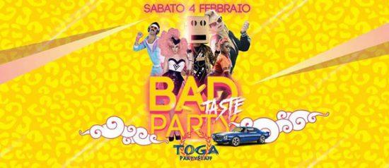 Bad taste party al Planet Kart di Conselice