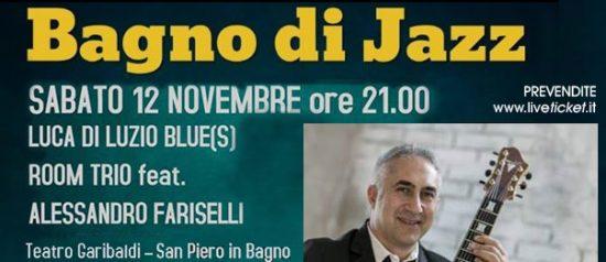 Luca di Luzio Blue(s) Room Trio feat. Alessandro Fariselli a San Piero in Bagno
