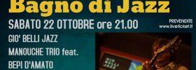 Giò Belli Jazz Manouche Trio feat. Bepi D'Amato a San Piero in Bagno
