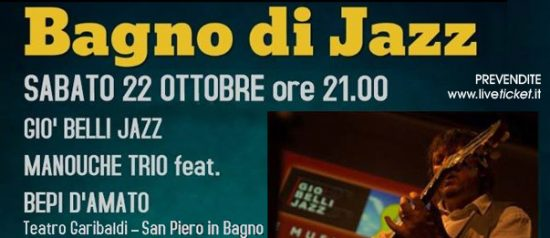 Giò Belli Jazz Manouche Trio feat. Bepi D'Amato a San Piero in Bagno