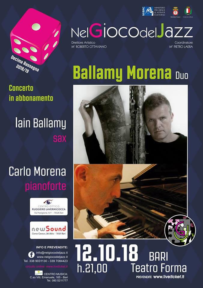 Duo Ballamy - Morena al Teatro Forma di Bari