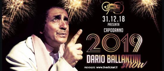 Capodanno 2019 - Dario Ballantini show a La Capannina di Franceschi di Forte dei Marmi Copia