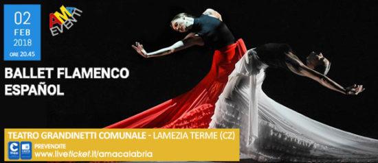 Ballet Flamenco Español al Teatro Grandinetti di Lamezia Terme