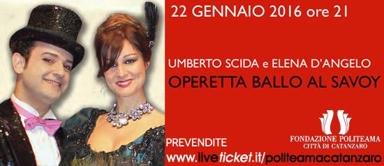 """Operetta """"Ballo al Savoy"""" al Teatro Politeama di Catanzaro"""
