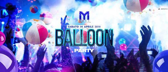 Ballon party al Mall Club di Rescaldina