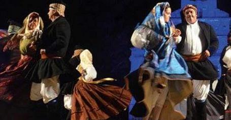 """""""Ballus"""" Incontro Internazionale del Folklore a Uta"""
