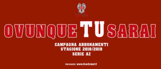 Benedetto XIV - Baltur Cento - Campionato serie A2 Stagione 2018/19