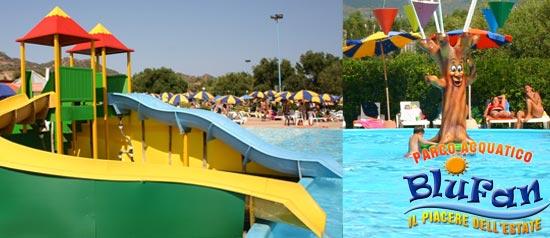 Laguna bambini Parco Acquatico Blufan di Sarroch (Cagliari)