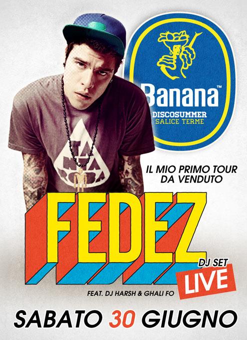 Fedez Live al Banana DiscoSummer