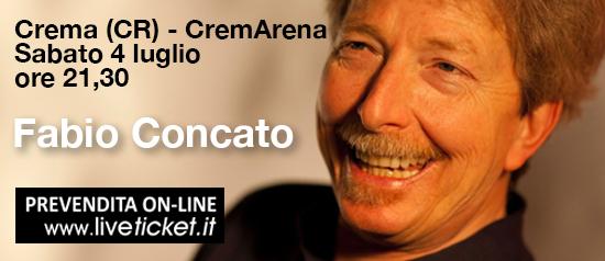 """Fabio Concato """"Opena tour 2015"""" al Cremarena di Crema"""