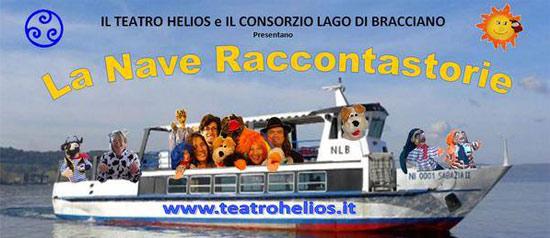 Gita in barca con spettacolo per bambini sul Lago di Bracciano