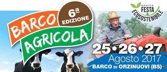 Barco agricola 2017 a Barco