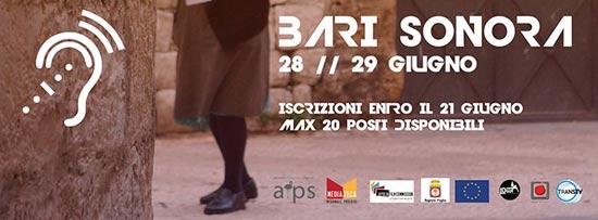 SonarApuliae 2013 alla Mediateca Regionale Pugliese di Bari