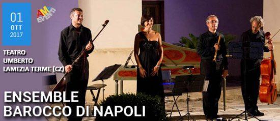 Ensemble Barocco di Napoli al Teatro Umberto di Lamezia Terme