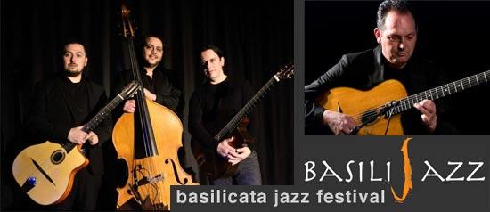 Salvatore Russo trio special guest Stochelo Rosenberg al Castello di Torre Mare di Metaponto
