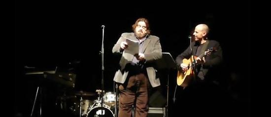 """Giuseppe Battiston, Piero Sidoti """"Gente inattesa"""" al Teatro del Mare di Riccione"""