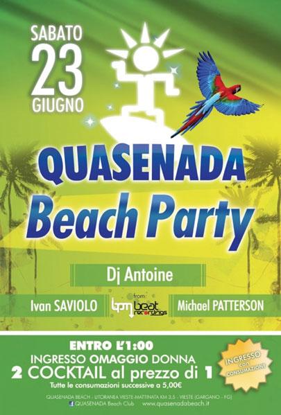 Beach Party a Vieste