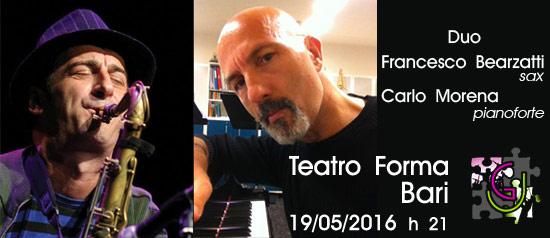 Duo Bearzatti - Morena al Teatro Forma di Bari