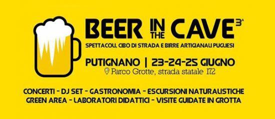 Beer in the Cave 3° edizione al Parco Grotte a Putignano
