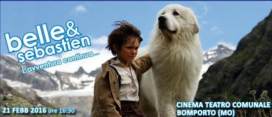 Belle e Sebastien - L'avventura continua al Cinema Teatro Comunale di Bomporto
