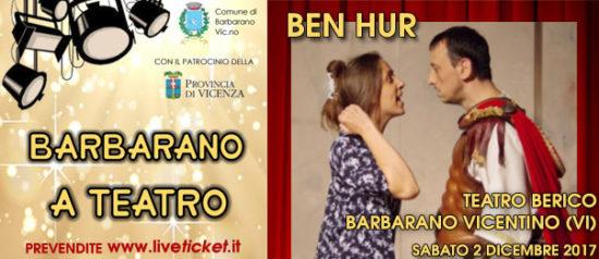 Ben Hur al Teatro Berico a Barbarano Vicentino