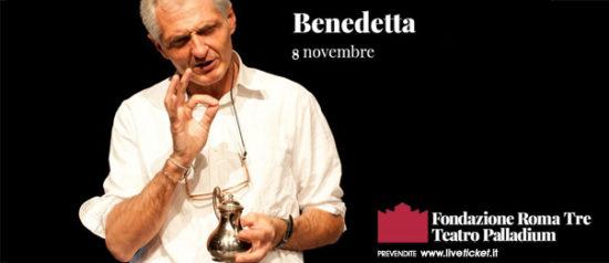 """Mimmo Sorrentino """"Benedetta"""" al Teatro Palladium a Roma"""