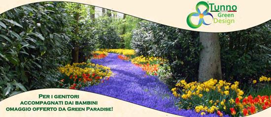 Benvenuta Primavera: nuovi fiori in giardino al Tunno Green Design di Taviano