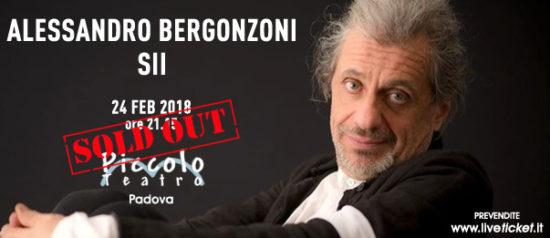 """Anteprima – Alessandro Bergonzoni """"SII"""" al Piccolo Teatro di Padova"""