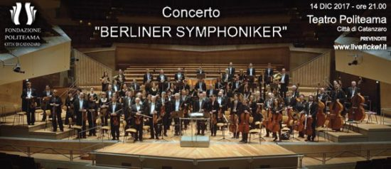 Berliner Symphoniker al Teatro Politeama di Catanzaro