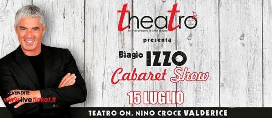Biagio Izzo Cabaret Show & Disco al Teatro On. Nino Croce a Valderice