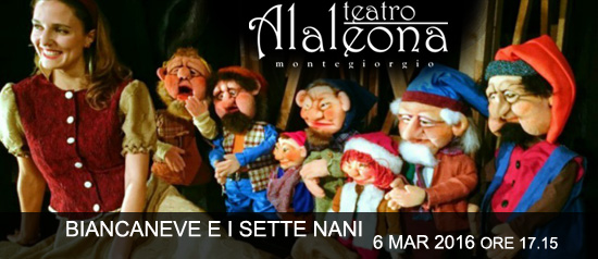 """Biancaneve e i sette nani"" al Teatro Alaleona di Montegiorgio"