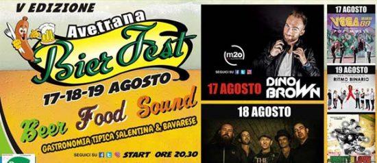 Avetrana Bier Fest V edizione al Piazzale Palasport di Avetrana