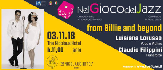 From Billie and beyond al The Nicolaus Hotel a Bari