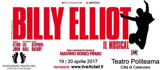 Billy Elliot al Teatro Politeama di Catanzaro