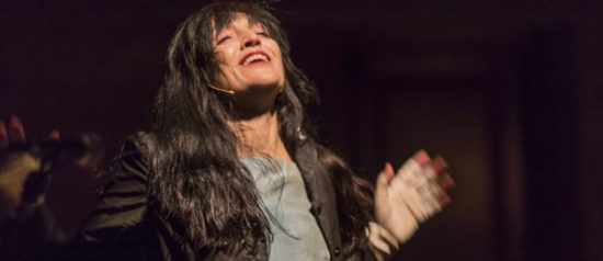 Bimba - inseguendo Laura Betti al Teatro Biblioteca Quarticciolo a Roma