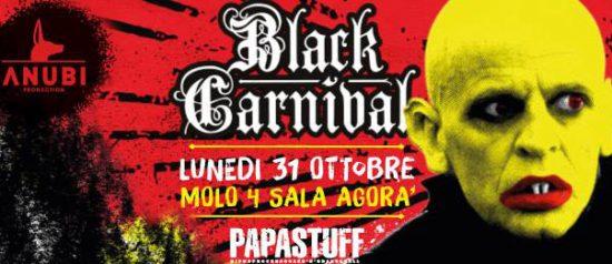Black Carnival Halloween 2016 al Molo 4 Trieste