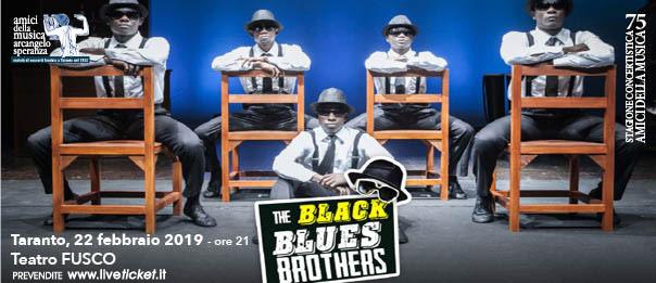The Black Blues Brothers al Teatro Fusco di Taranto
