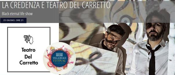 """""""Tra musica e teatro"""" Blake Eternal Life al Villa Reale Festival di Capannori"""