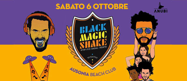 Black Magic Shake all'Ausonia Beach Club di Trieste